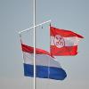 The flag of Leiden