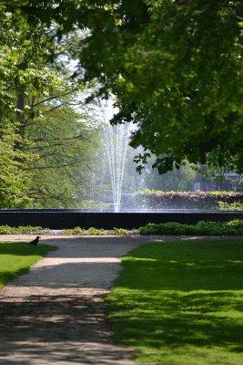 fontein in het Plantsoen